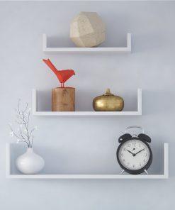 floating shelf 3 in 1 storage