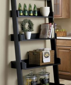 ladder shelf storage