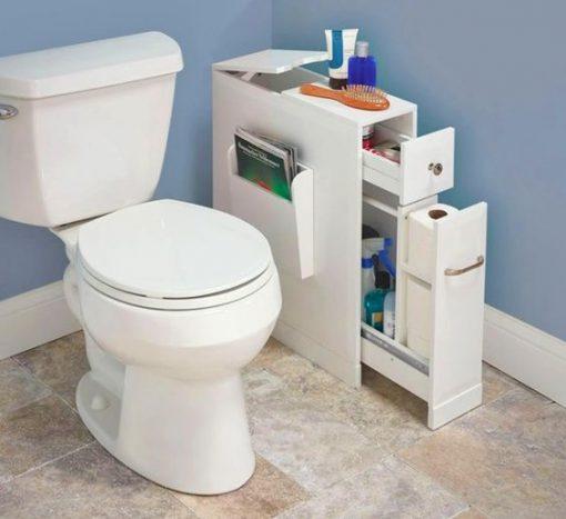 washroom cabinet storage