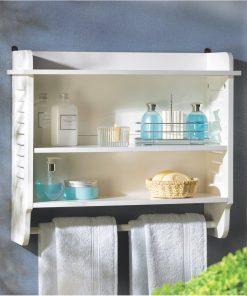 bathroom shelf wall shelf