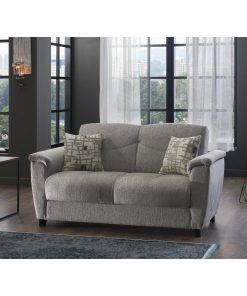 2 in 1 couch grey soft cushion