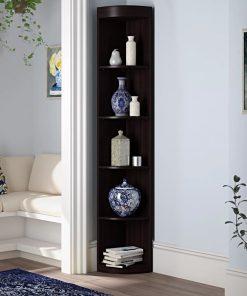corner shelf and storage