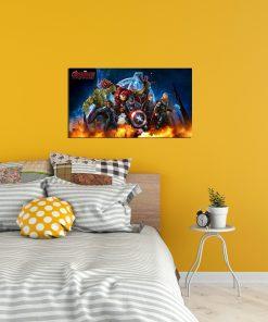 avengers image art wall display