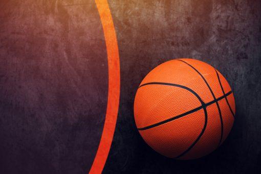 Basketball_Ball on the ground