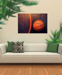 basketball picture wall display