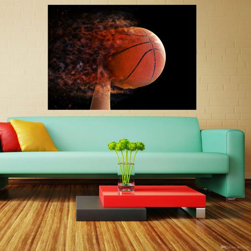 basketball picture frame wall art display