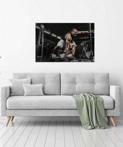 men at gym inspiration picture wall display