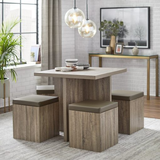 dining set 4 seater cute
