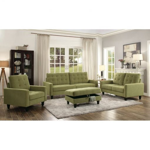 living room couch with ottoman