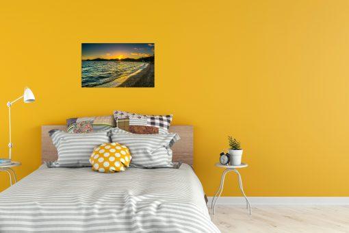 sunrise nature ocean wall display