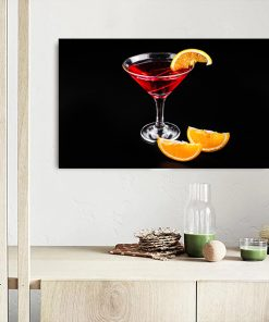 cocktail kitchen wall display