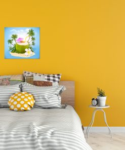 coconut natural picture wall display
