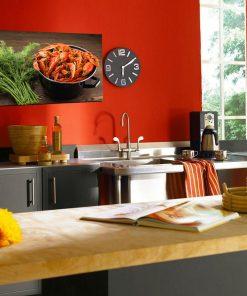 crayfish on wall display kitchen
