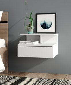 1 drawer nght stand wall mount