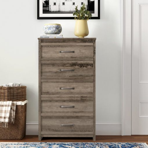 traditional chest 5 unit drawer
