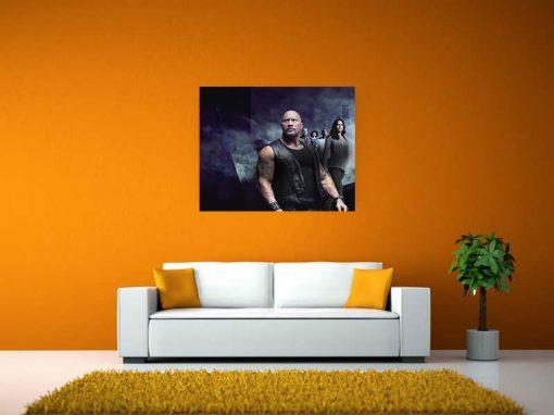 fast furious black image art wall display