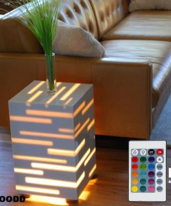 Smart night stand bedroom LED