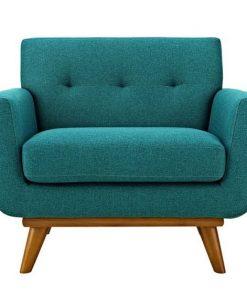 Single Arm chair green