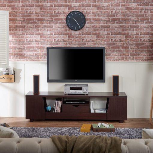 TV UNIT BROWN