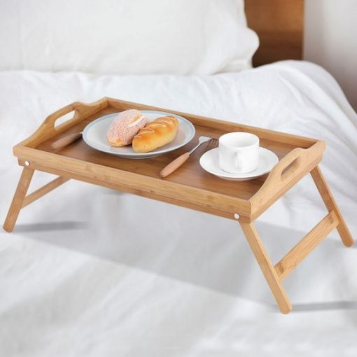 bed breakfast table overbed