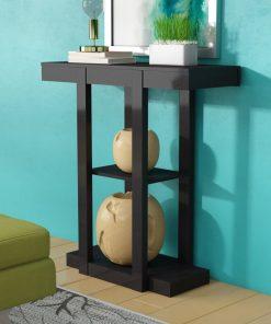 black hallway console side table