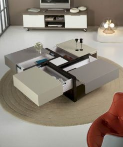 modern center table with drawers