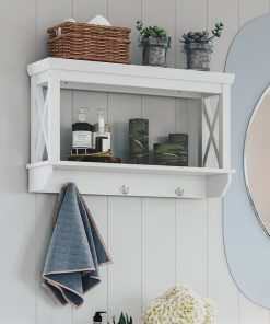 bathroom washroom wall storage shelf