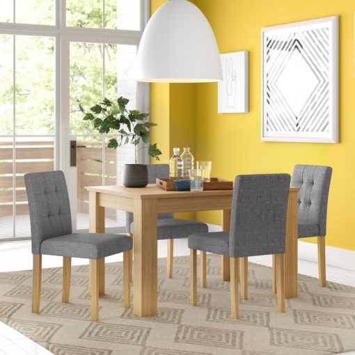 dining seat fabric seat 4 seater