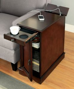 side table charging station