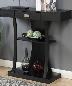 wall way side table with storage