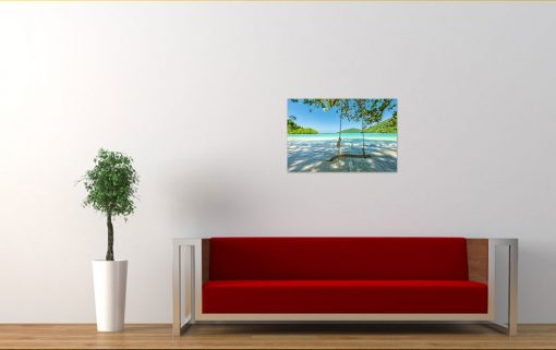 rive side nature wall display