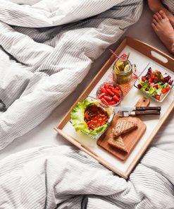 serving tray bedside breakfast in bed