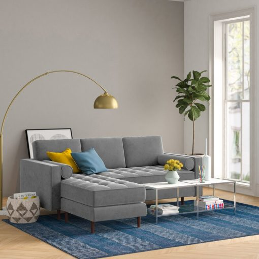 grey couch 3 in 1