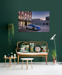 mercedes art wall display