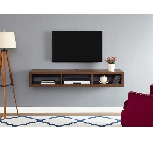 brown tv stand for 43 inches