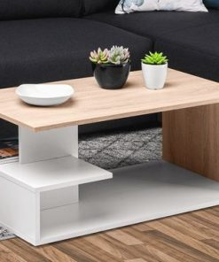 cute center table centre white and brown