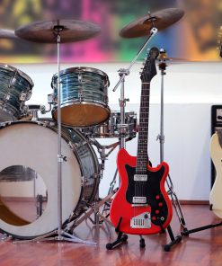 music instrument drums guitar bass