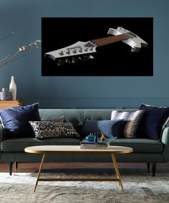 guitar wall picture display music instrument