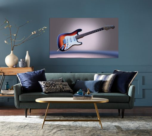 guitar wall display picture