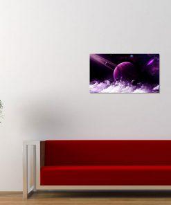 purple color nature planet cloud