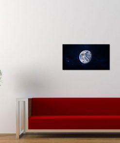planet earth black