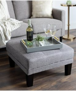 grey serving tray rectangle