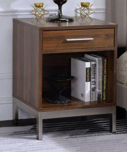 metal legs bedside cabinet