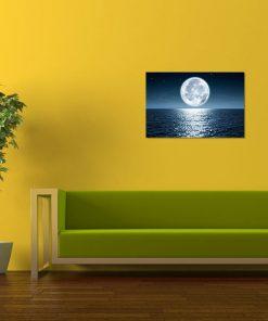 ocean moon nature bedroom kitchen living room bathroom art display