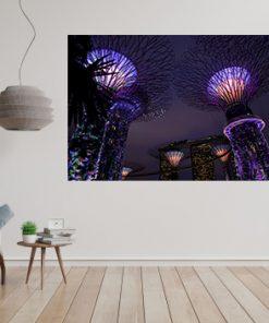 singapore most beautiful scene christmas night art display