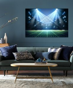 stadium picture frame wall art display