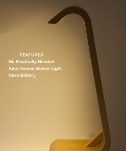 auto sensor table lamp battery powered LED