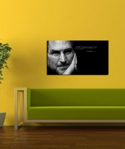 steve jobs picture wall display