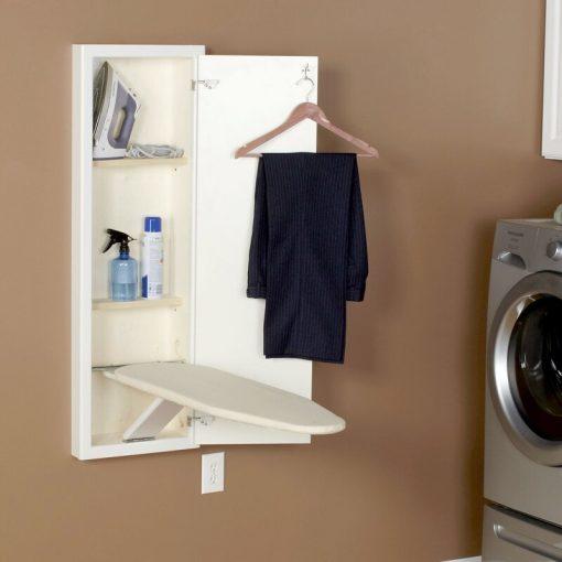 inbuilt ironing board space saving