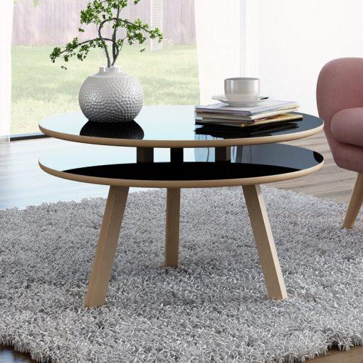 sleep super high gloss center table